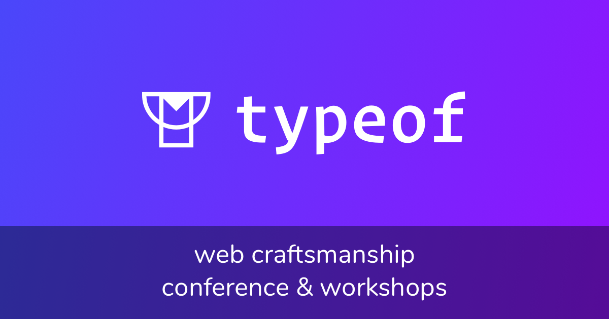 Typeof Conference